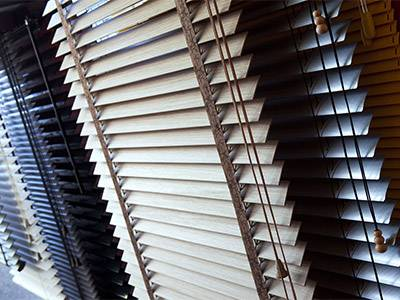 selection of venetian blinds